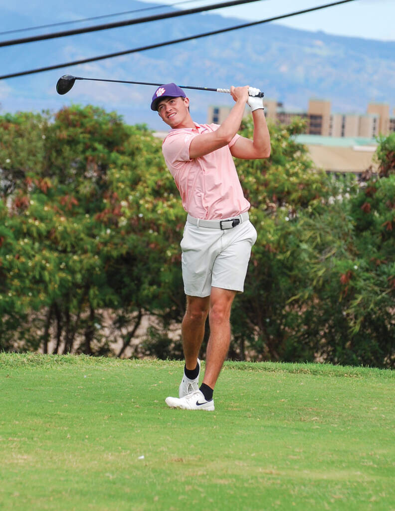 Turk Pettit – Men's Golf Spotlight