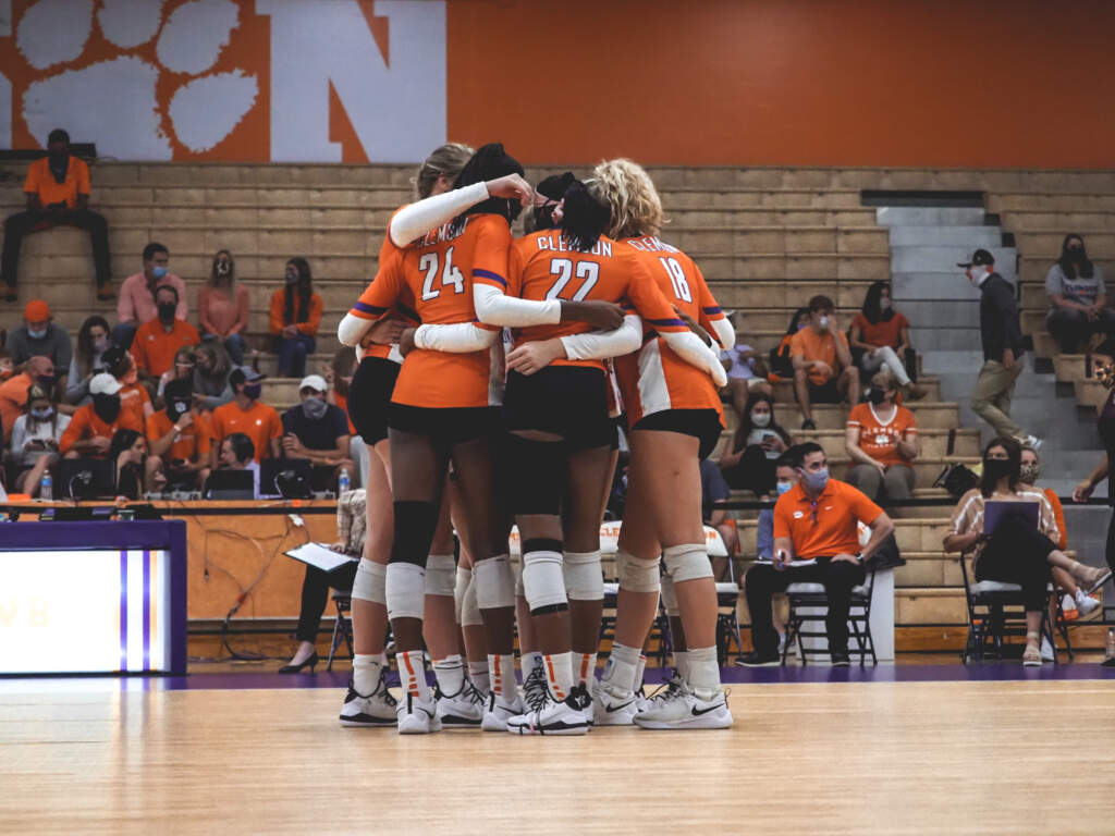 No. 12 Miami Tops Clemson in Three Sets