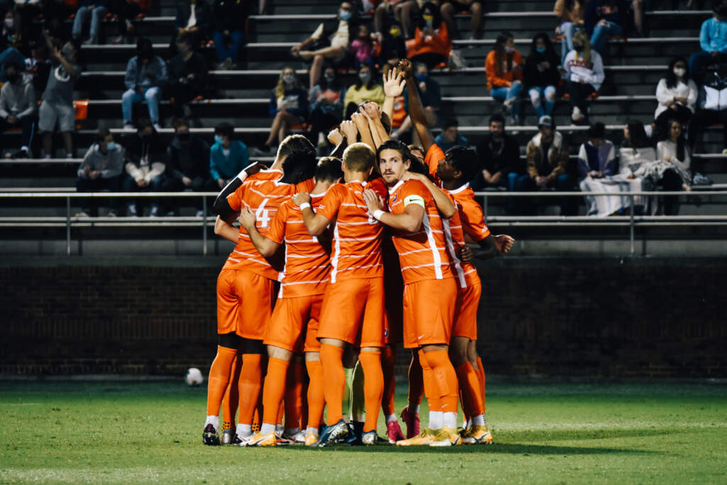 Clemson Men's Soccer Ranked Third by United Soccer Coaches