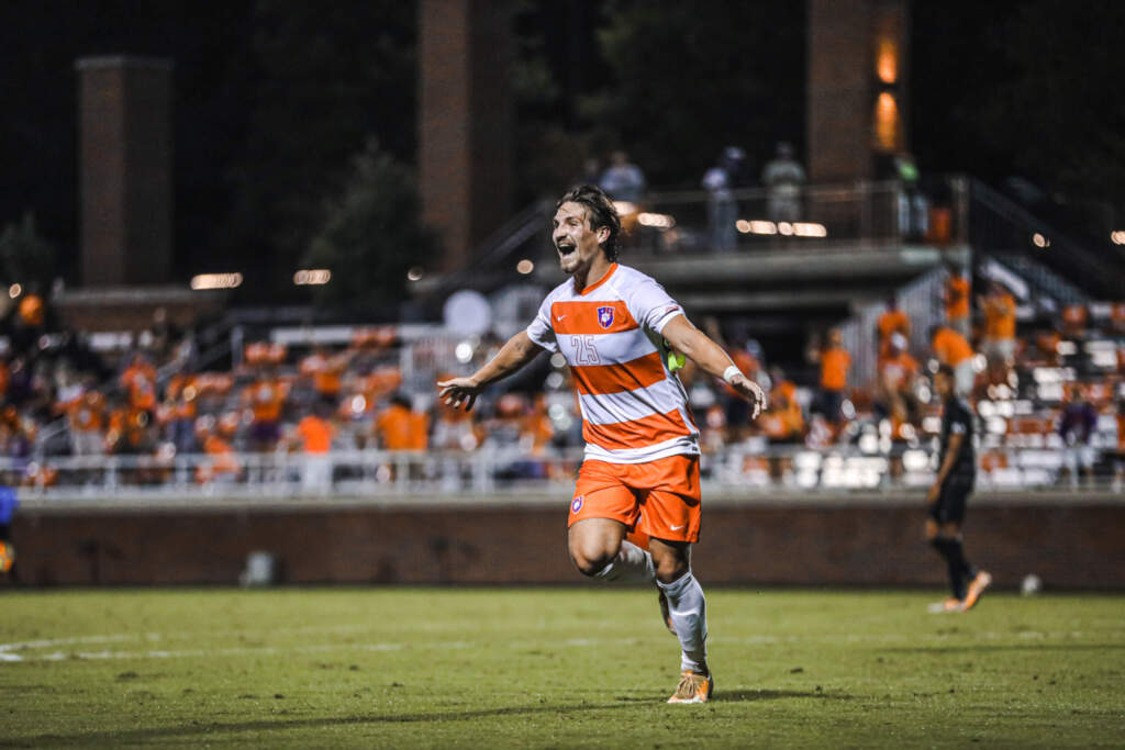 Brighton's Brace Leads Clemson to Emphatic 2-1 Victory Over Duke in 2OT