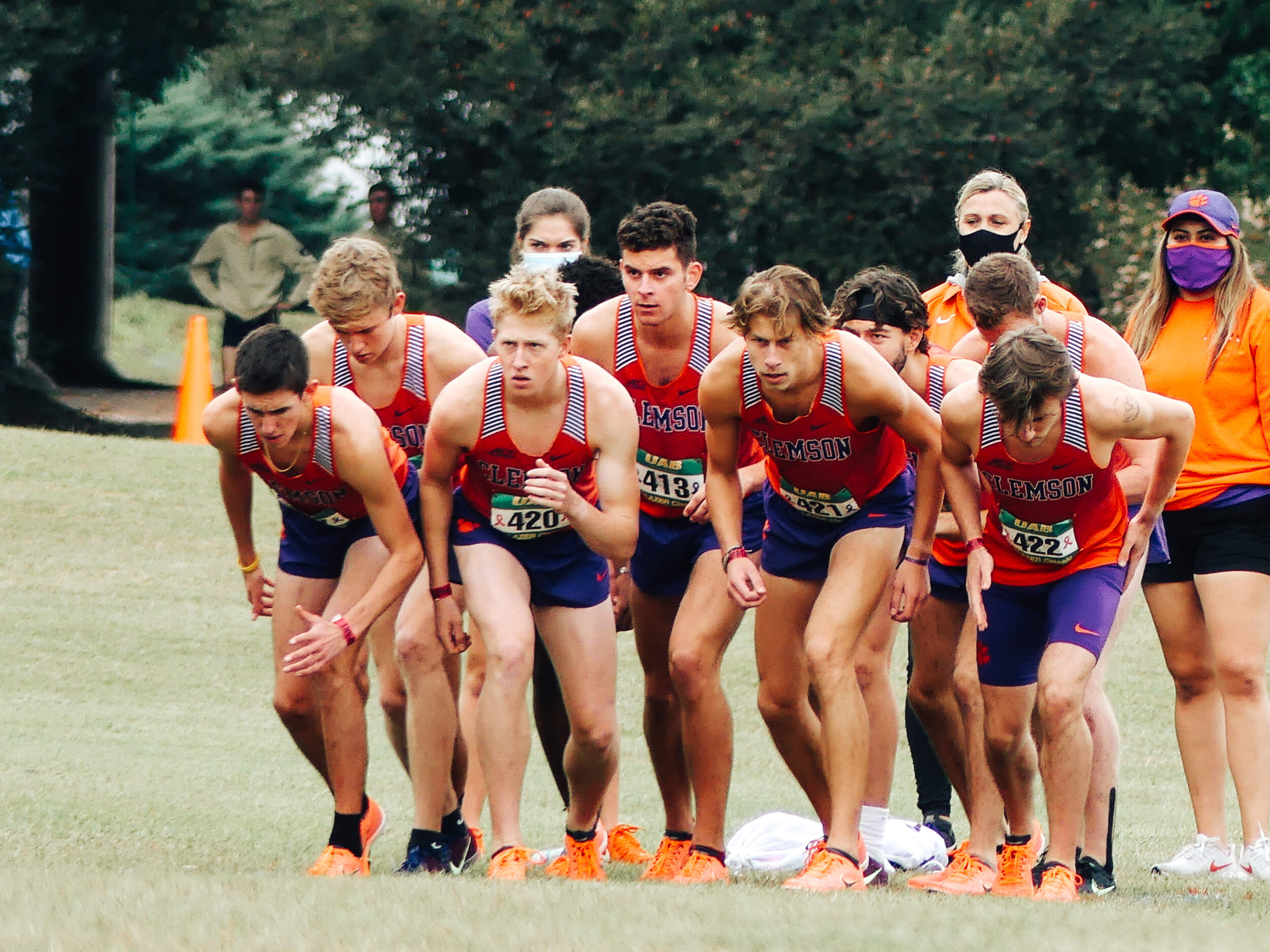 Tigers Tally Seven Personal Bests at ACC Championships Friday Morning