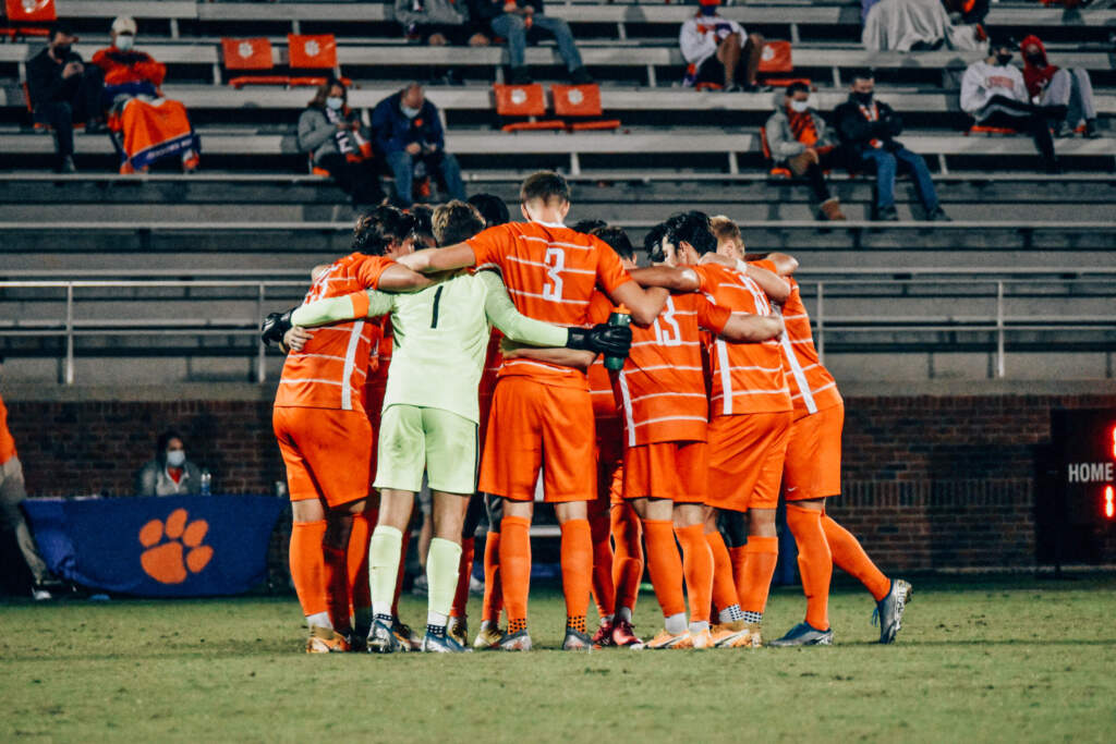 Clemson Ends Top-Five Match in Hard-Fought Draw