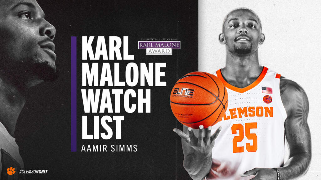 Aamir Simms Named to Karl Malone Watch List