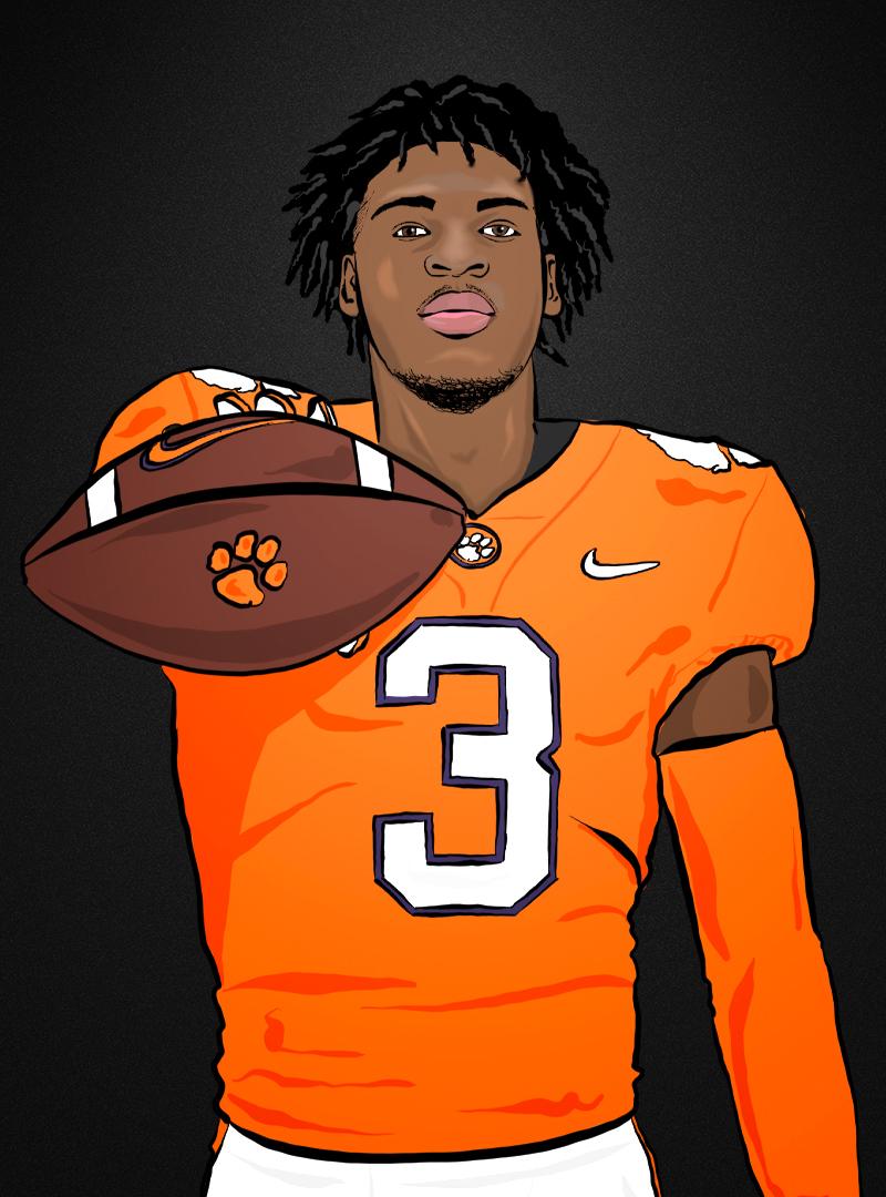 Zaire Patterson - Football - Clemson University Athletics