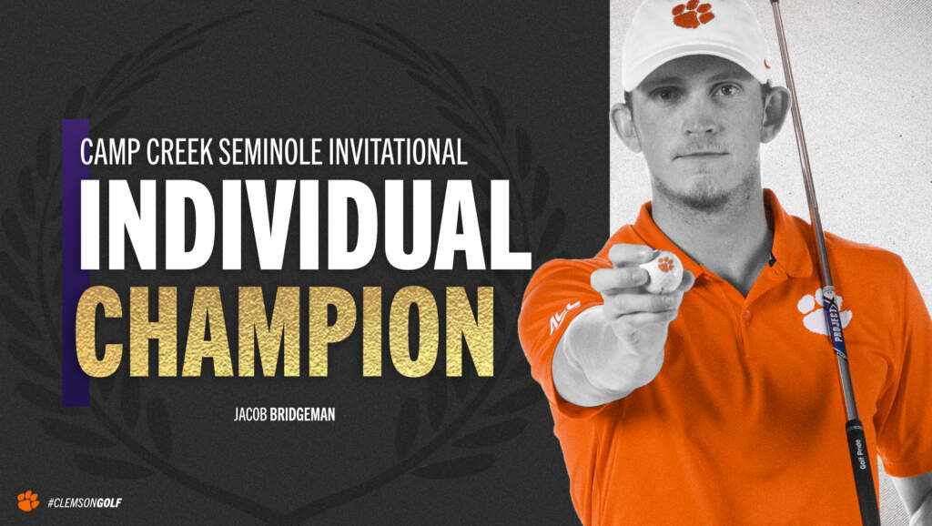 Bridgeman Wins Camp Creek Seminole Invitational