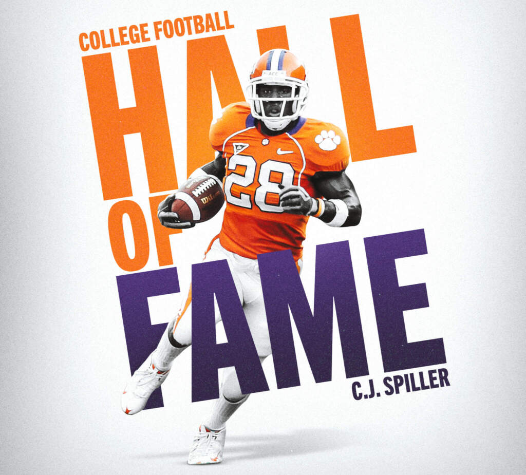Spiller Selected for Induction in College Football Hall of Fame