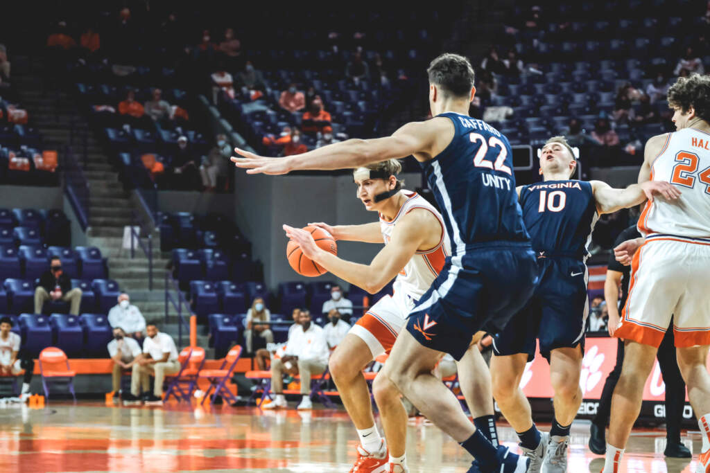No. 12 Clemson Falls to No. 18 Virginia