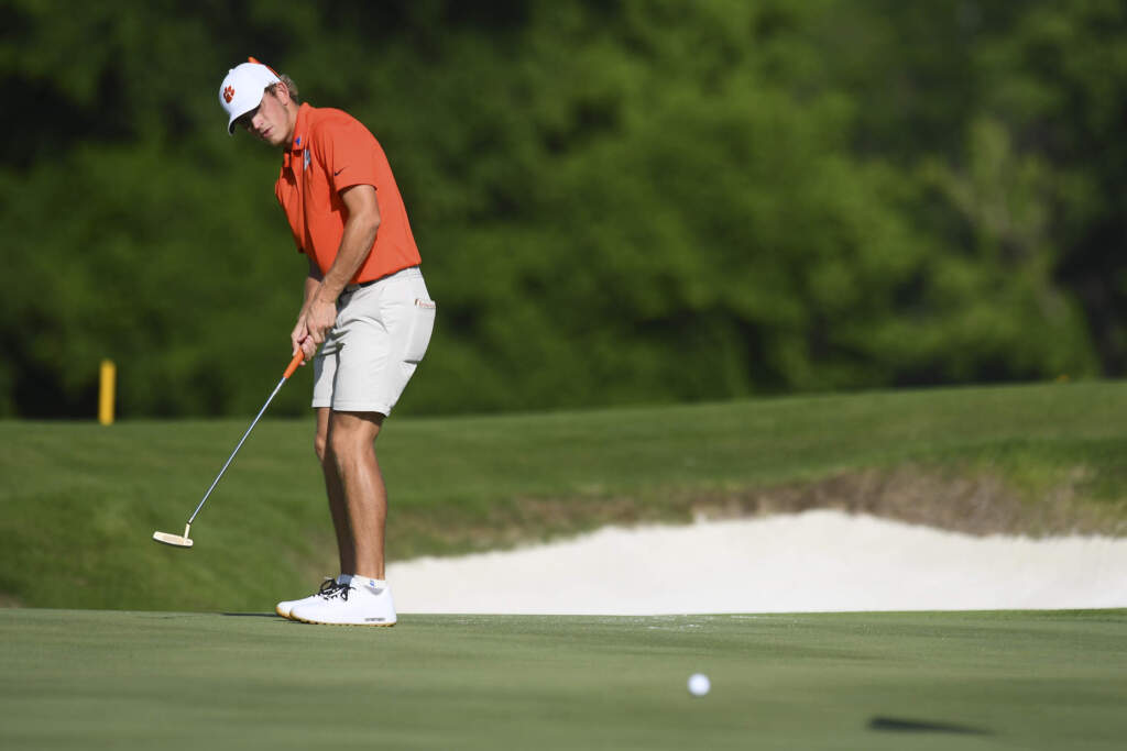 Clemson Holds First-Round Lead at Camp Creek Championship