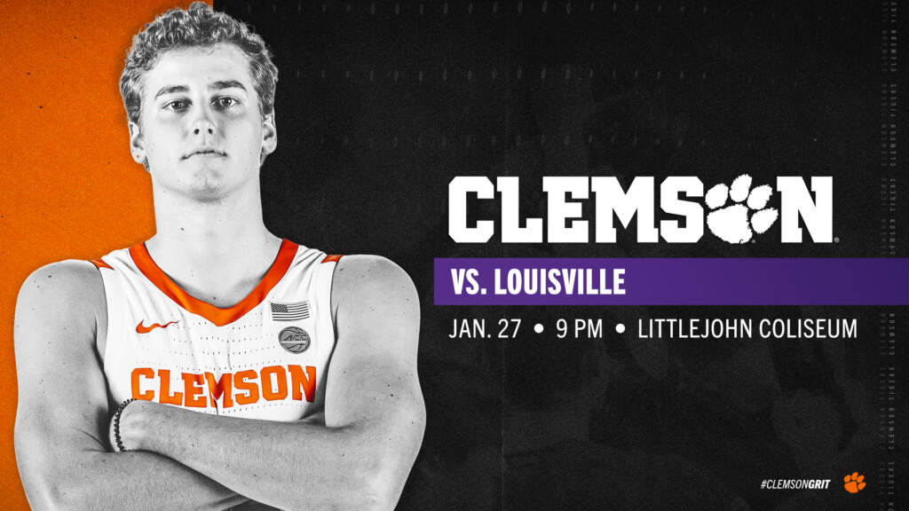 Men's Basketball Now Plays Louisville on Wednesday, Jan. 27
