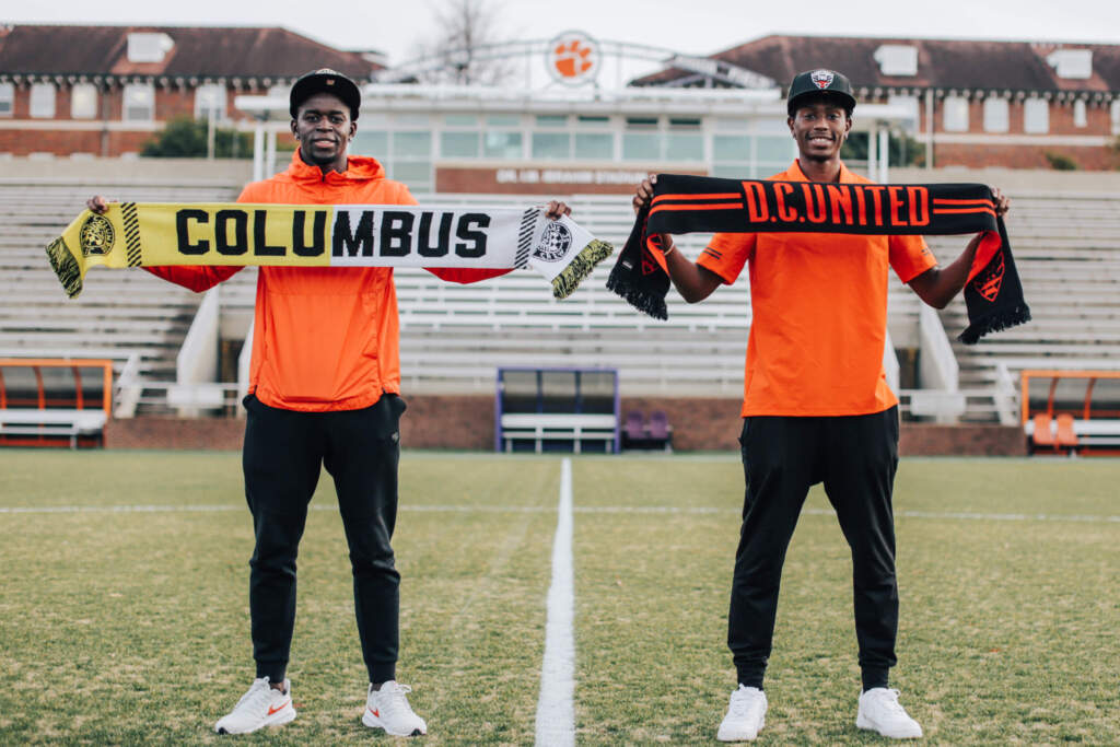 Three Tigers Selected in First Round of 2021 MLS SuperDraft