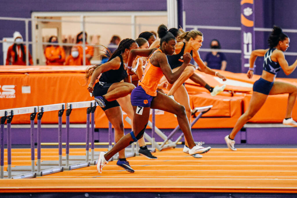 Hemmings Highlights Successful Friday for Track and Field