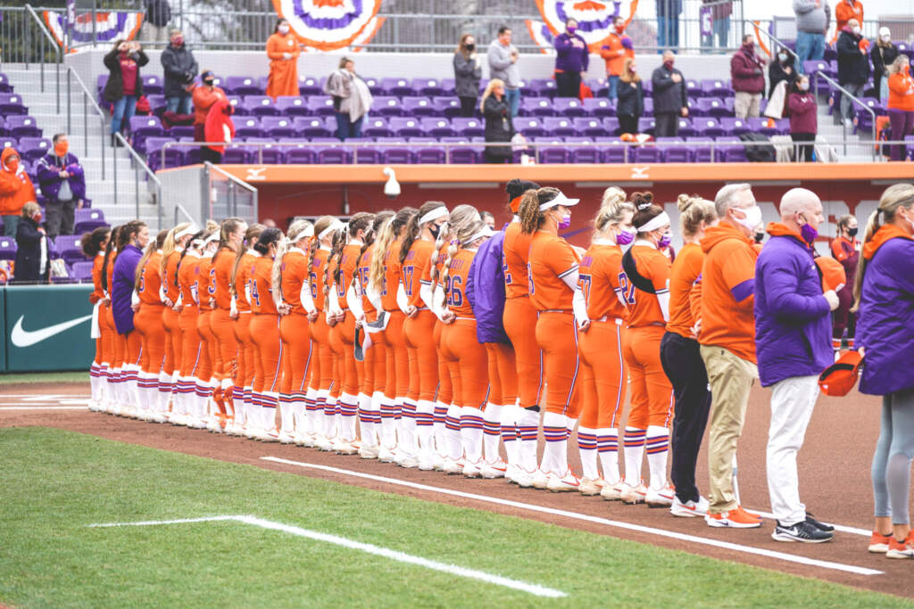 No. 14 Va. Tech Tops Clemson in Doubleheader