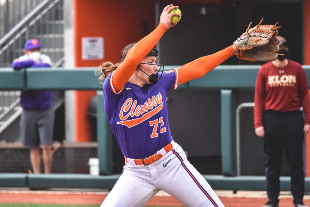 Cagle, Tigers Shut Out Elon