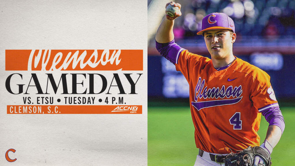 GAMEDAY – East Tennessee State at Clemson