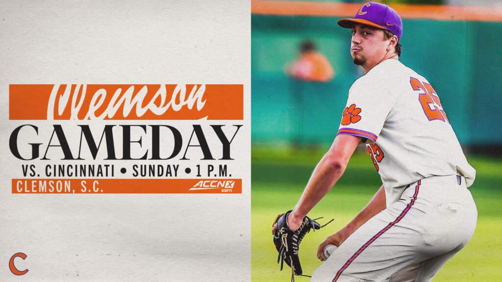 GAMEDAY – Cincinnati at Clemson