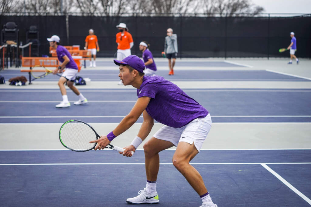 Giusca/Liu Pick Up First Ranked Doubles Win as Tigers Fall to Duke