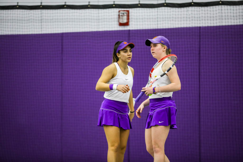 Louka and Thompson Compete at ITA All-Americans