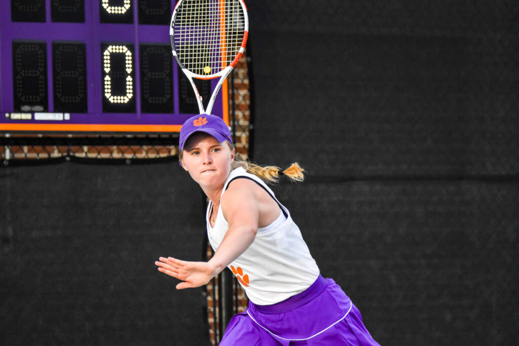 Tigers Close Out Weekend Strong at ITA Regionals