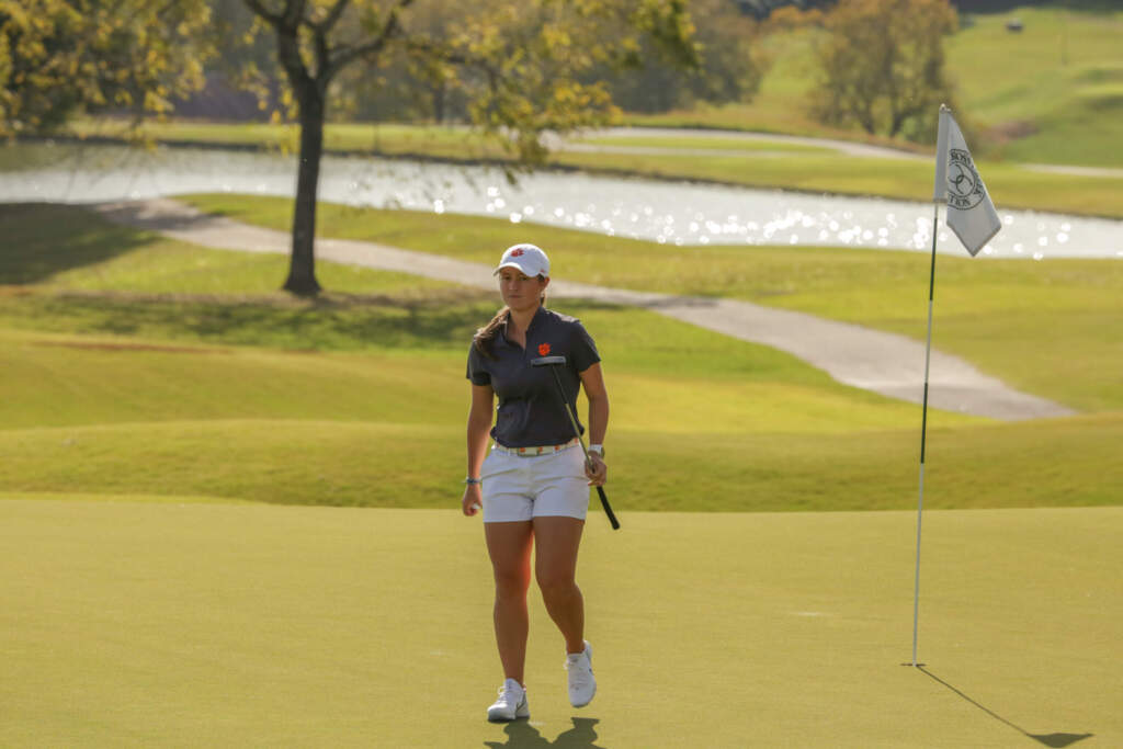 Clemson Finishes Opening Round In Sixth Position