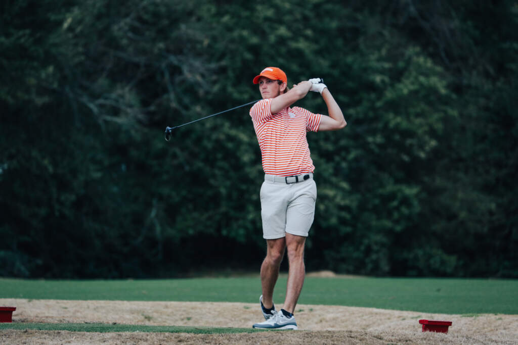 Bridgeman Earns ACC Men's Golfer of the Month Nod After Stellar Play
