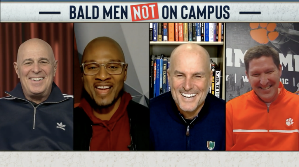 Brad Brownell on ACCN Bald Men on Campus (Feb. 19, 2021)