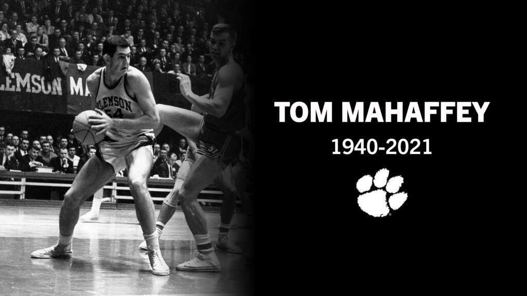 Former Clemson Basketball Player Tom Mahaffey Passes