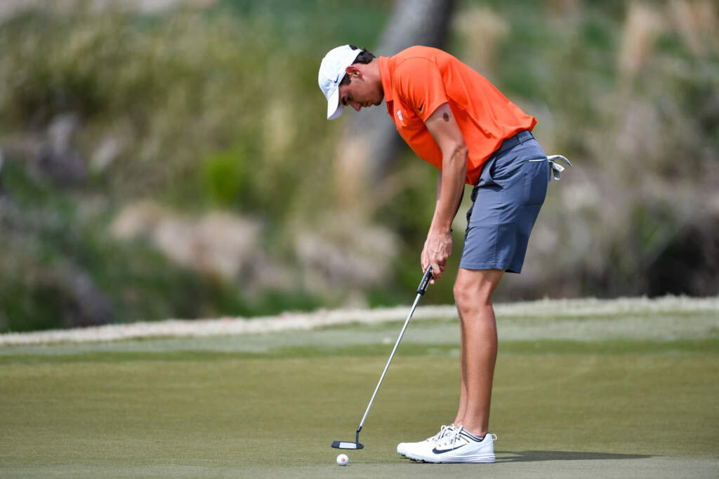 Clemson Tied for Third When Play Halted at Kiawah Invitational
