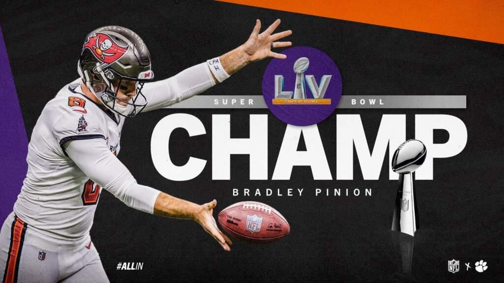 Pinion Earns Super Bowl Ring