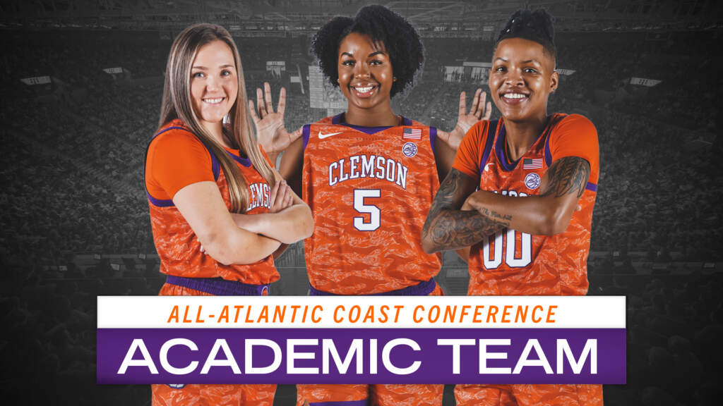 Three Tigers Named to All-ACC Academic Team