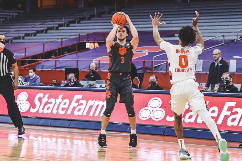 Clemson Falls at Syracuse