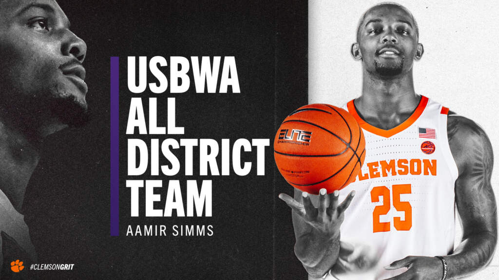 Aamir Simms Named to USBWA All-District Team