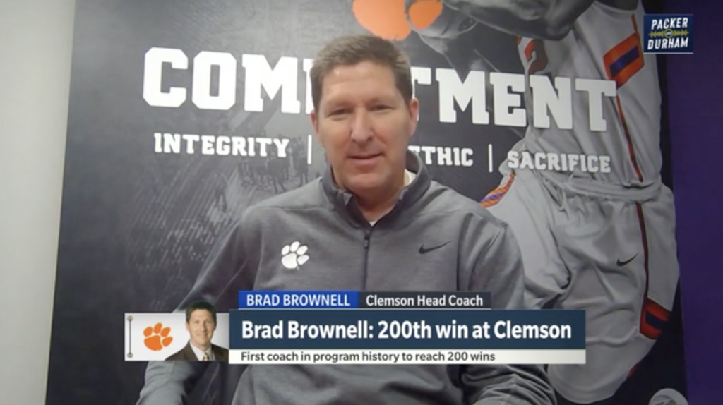 Brad Brownell on Packer and Durham (March 1, 2021)