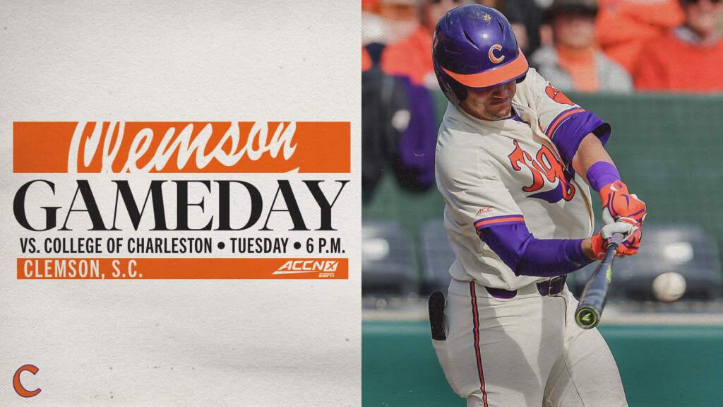 GAMEDAY – College of Charleston at Clemson
