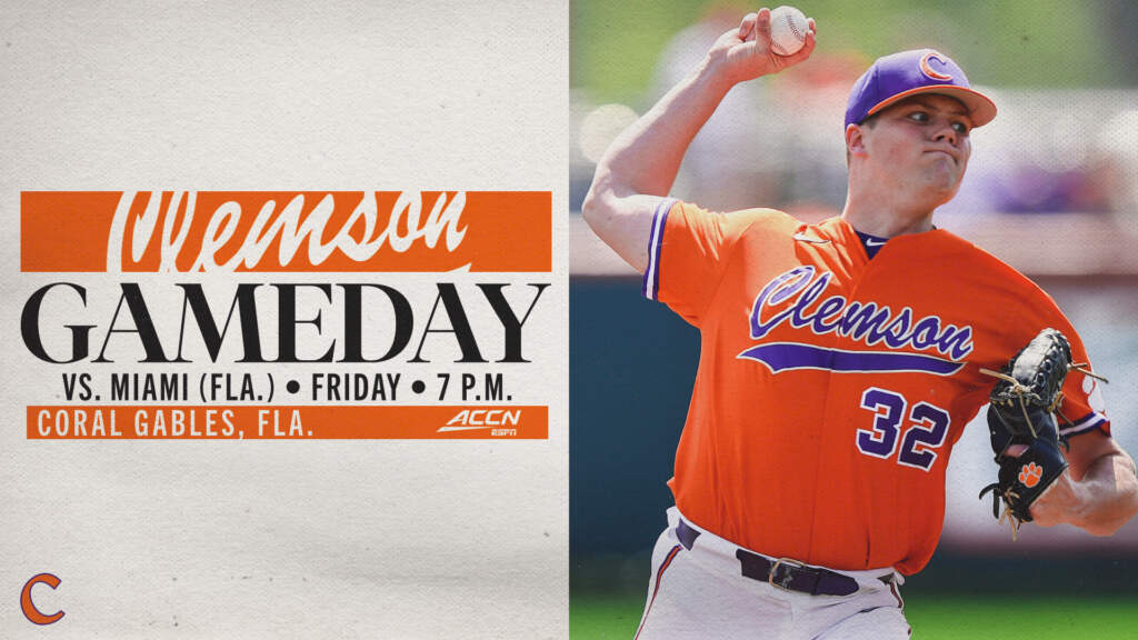 GAMEDAY – Clemson at Miami (Fla.)