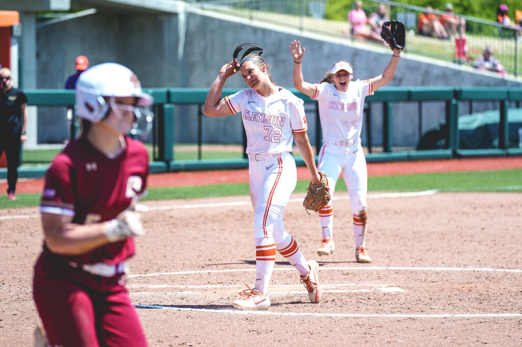 Cagle Sweeps NFCA, ACC Pitcher-of-the-Week Honors