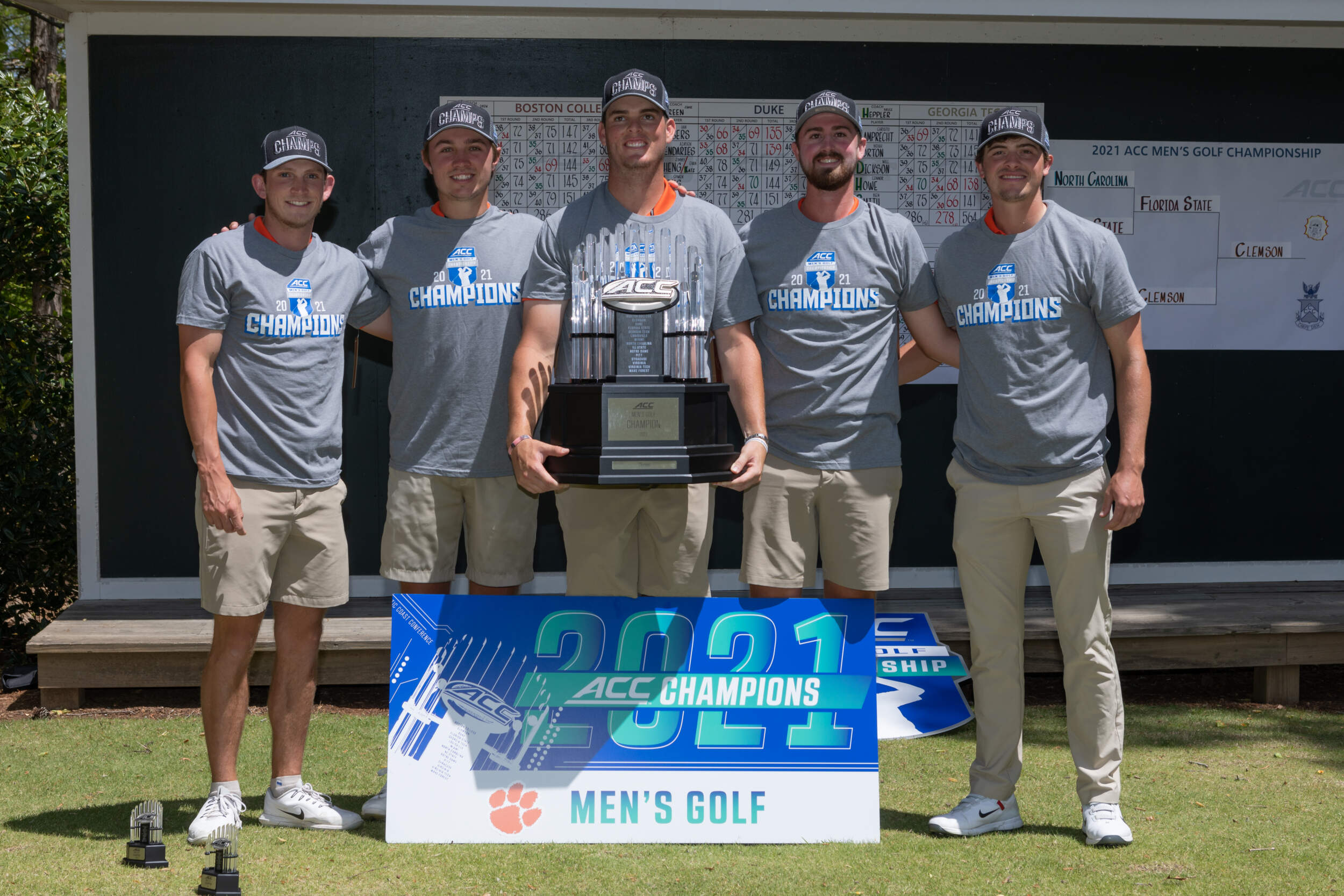 MGOLF: Three Tigers Named All-ACC