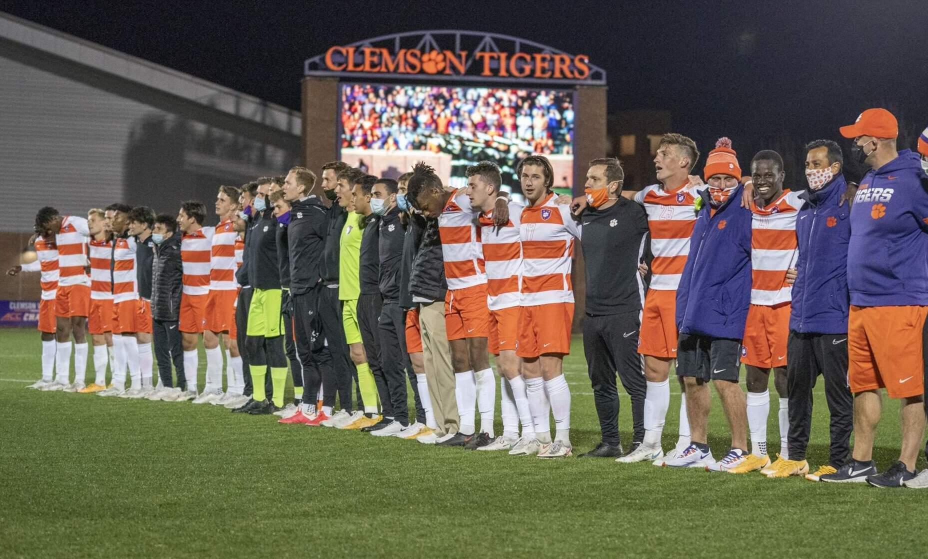 Nine Tigers Garner ACC Men's Soccer Recognition Wednesday