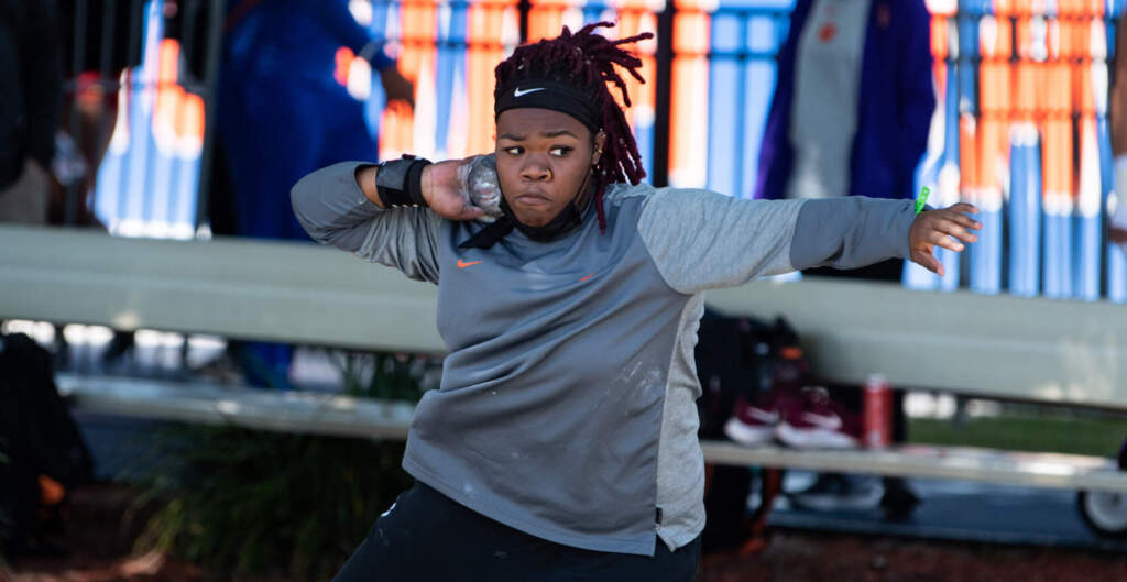 Clemson's Throwers Travel to ACU for Oliver Jackson Twilight Meet