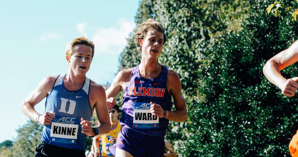 Ward, Barton Earn All-ACC Academic Honor