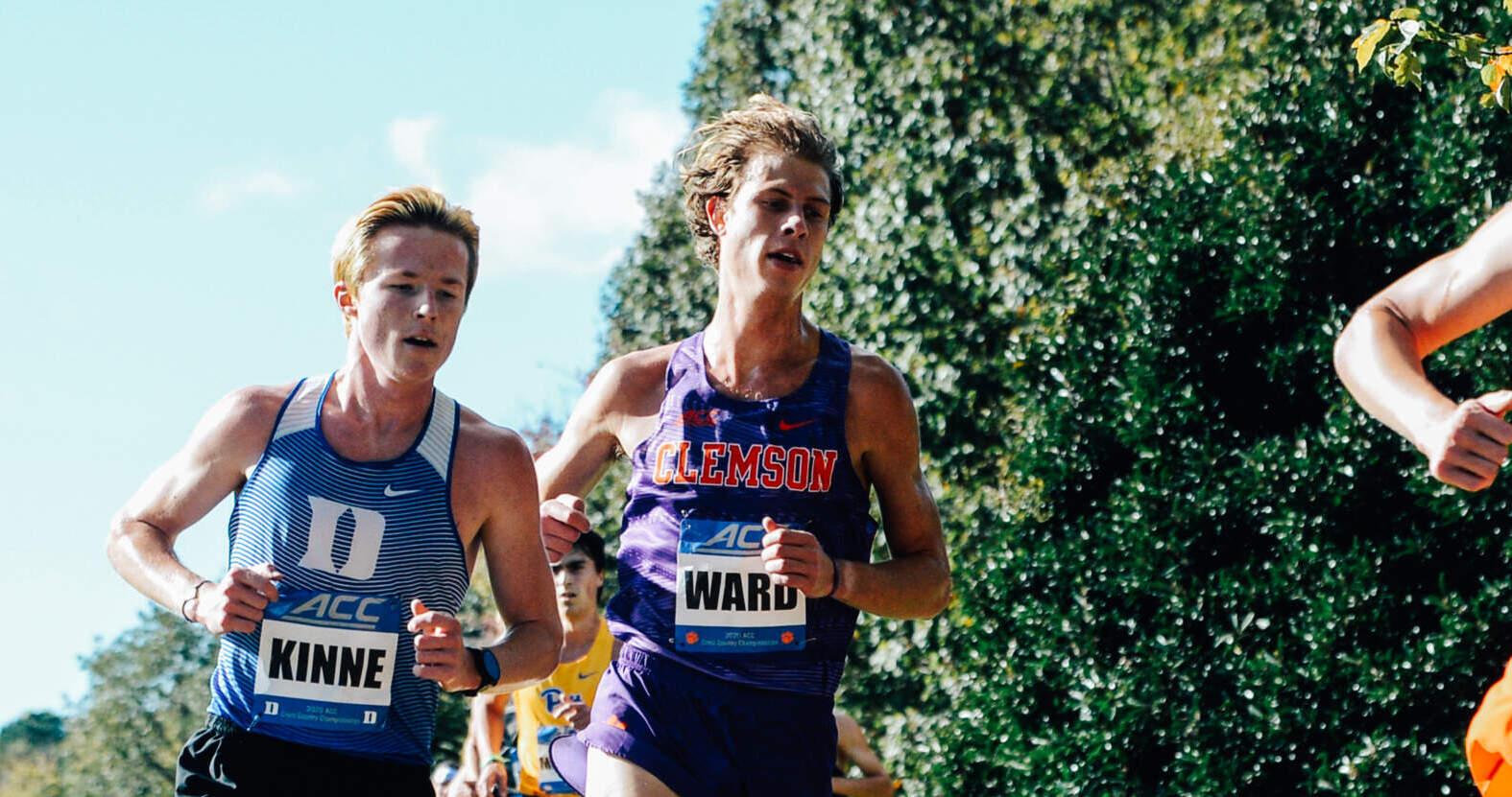 Ward, Barton Earn All-ACC Academic Honor
