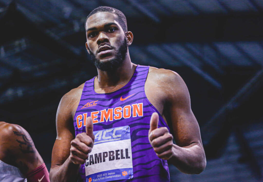 Five Tigers Garner All-ACC Academic Indoor Track & Field Honor Tuesday