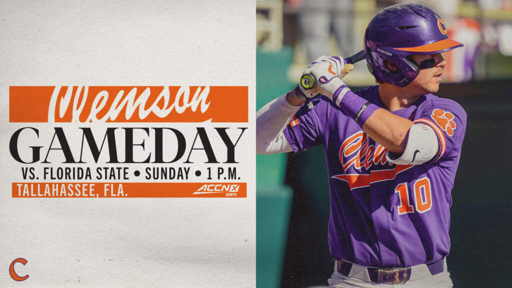 GAMEDAY – Clemson at Florida State