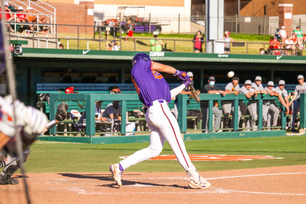 Grice's Homer Lifts Tigers To 5-4 Win Over No. 4 Louisville