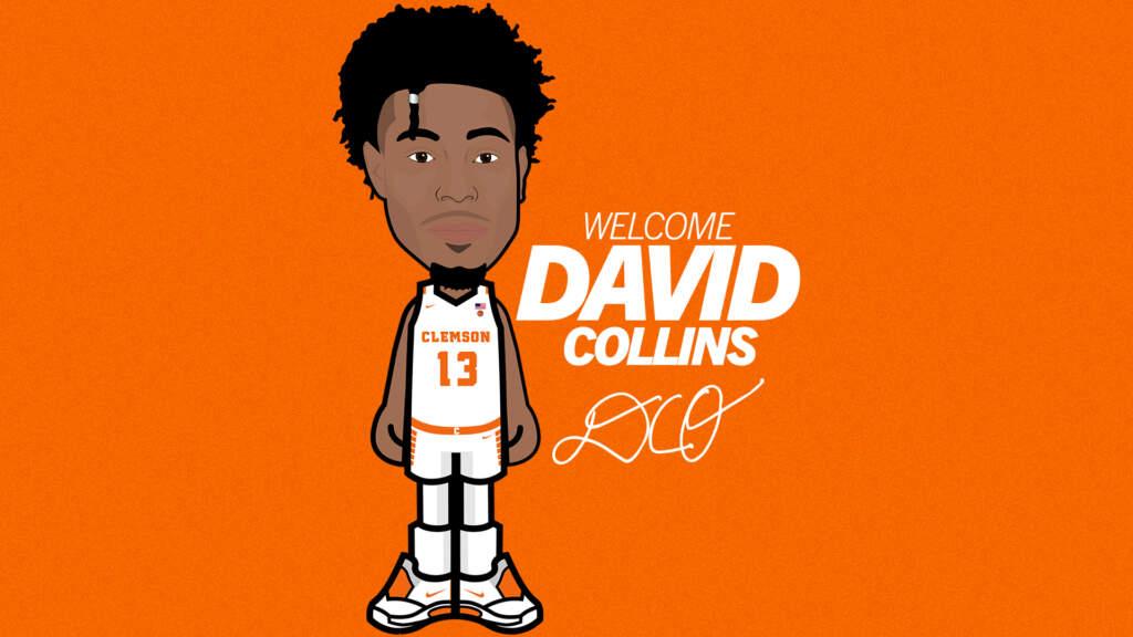 Clemson Basketball Lands Grad Transfer David Collins from USF