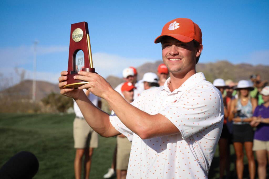 Turk Pettit Wins 2021 NCAA Men's Golf Individual Championship