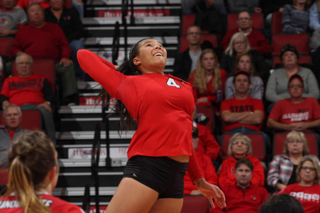 Volleyball Adds Illinois State Transfer Kaylee Martin
