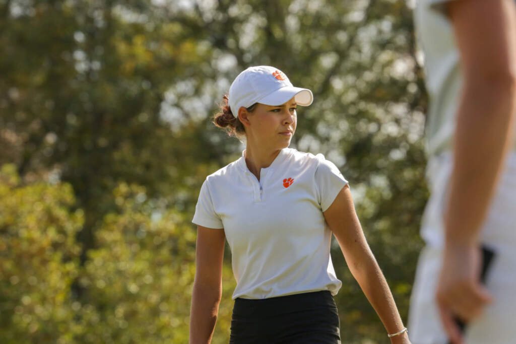 Clemson In 14th Place after First Round of NCAA Columbus Regional