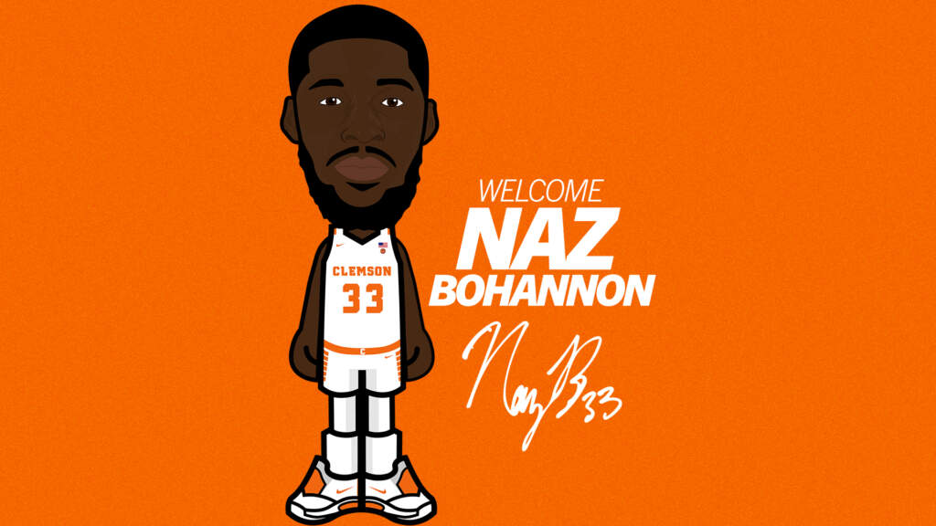 Clemson Basketball Lands Grad Transfer Naz Bohannon from Youngstown State