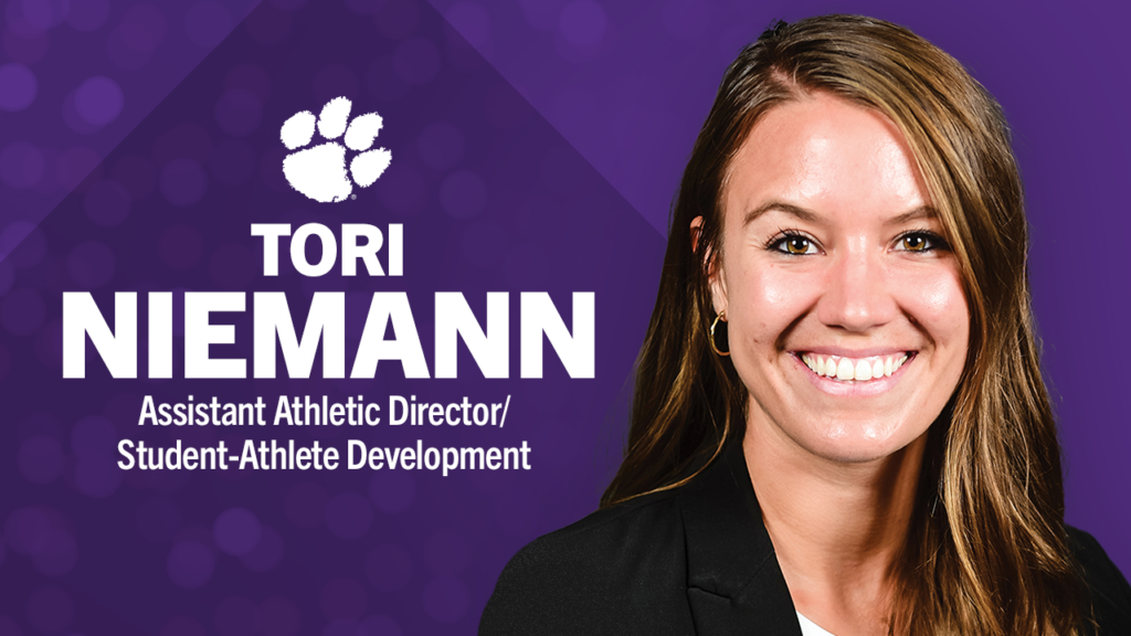 Niemann Returns to Clemson as Assistant Athletic Director/Director of Student-Athlete Development