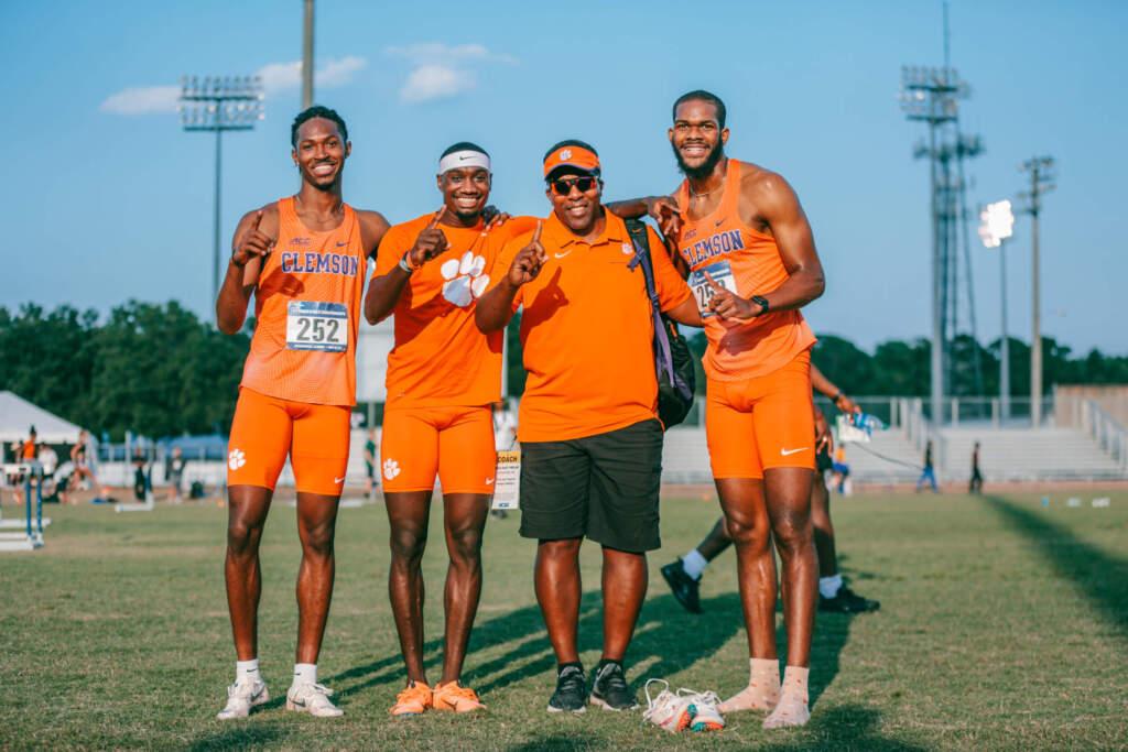 Clemson's Men Shine in Jacksonville on Friday